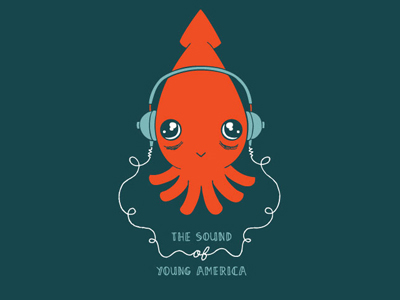 Listening Squid from Jamie Tanner.