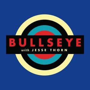 Bullseye with Jesse Thorn Logo