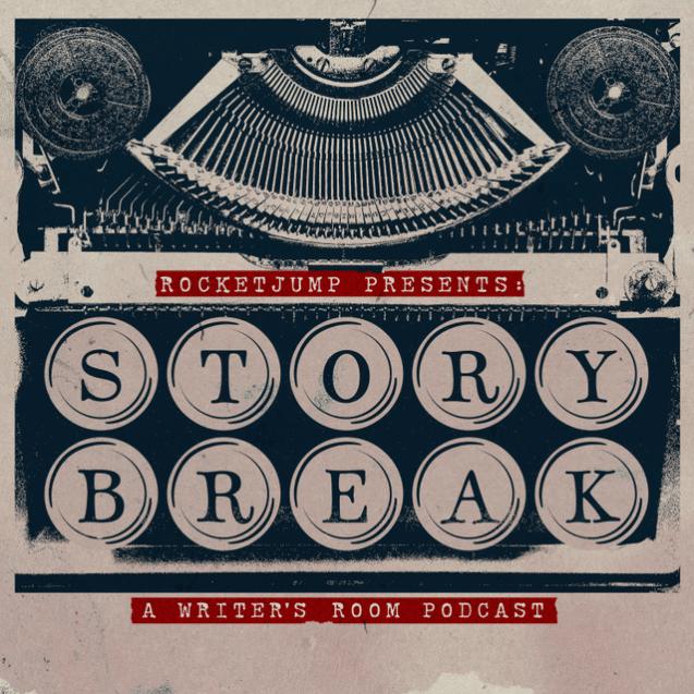 'Story Break' podcast cover