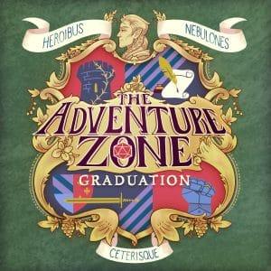 The Adventure Zone Graduation logo