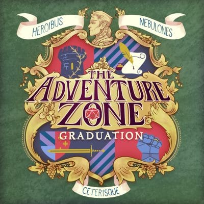The Adventure Zone Graduation logo