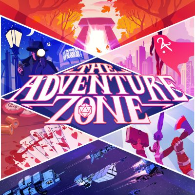 The Adventure Zone Graphic Novel: Petals to the Metal Live & Virtual!