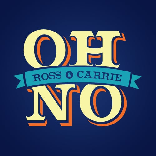 Oh No Ross & Carrie Logo