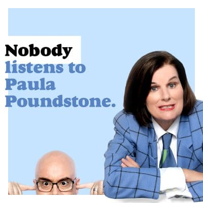 Nobody Listens to Paula Poundstone Logo