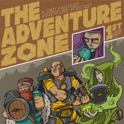 The Adventure Zone Logo