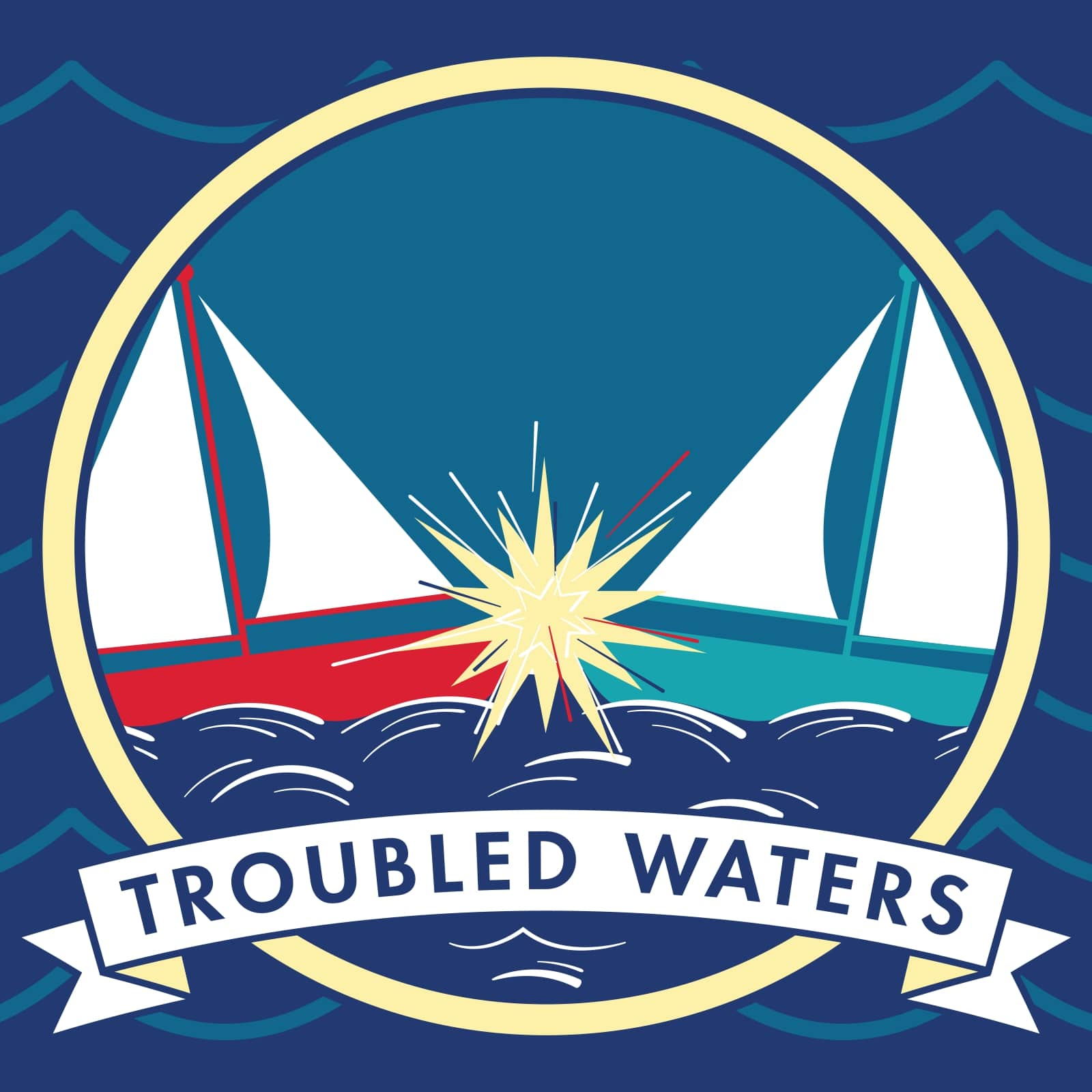 Troubled Waters Logo