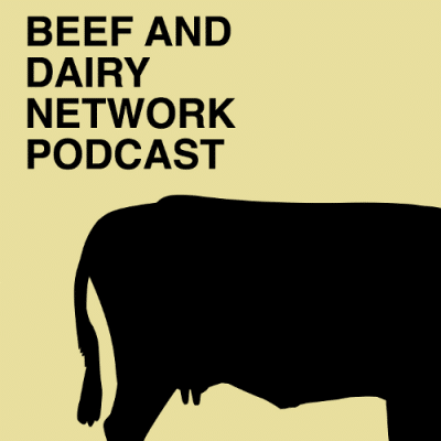 Beef And Dairy Network Podcasts Logo