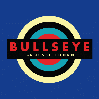 Bullseye with Jesse Thorn Logo