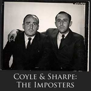Coyle & Sharpe: The Imposters Logo