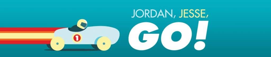 Jordan, Jess, Go! Logo