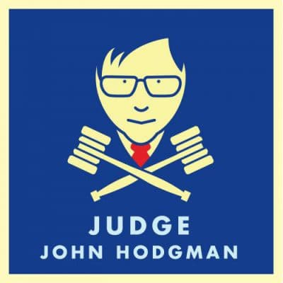 Judge John Hodgman Logo