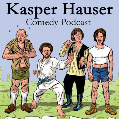 Kasper Hauser Comedy Podcast Logo