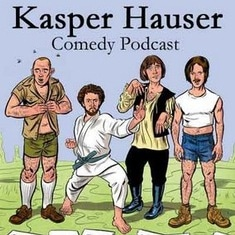 Kaster Hauser Comedy Podcast Logo
