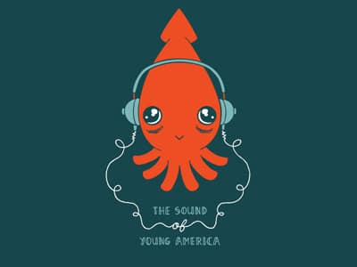 Listening Squid from Jamie Tanner.