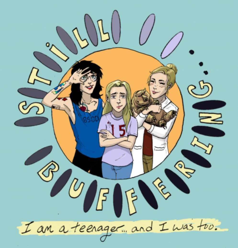 Still Buffering Logo