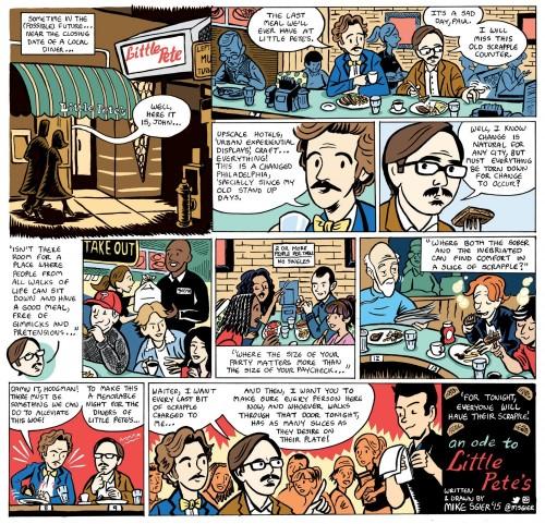 Little Pete's Diner comic