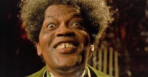 A close up of Clarence Williams III from 'Tales from the Hood'