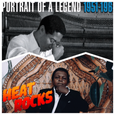 The album cover for PORTRAIT OF A LEGEND with a portrait of Lee Fields