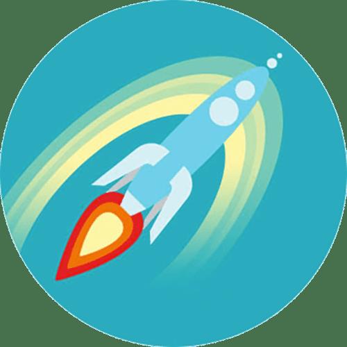 Rocket Logo Signifying Bonus Content