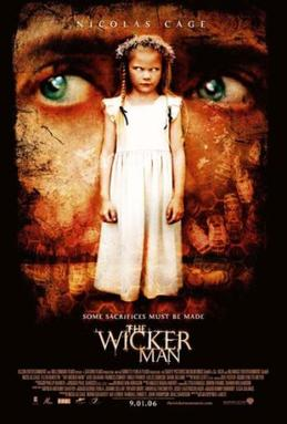 The promotional poster for Wicker Man
