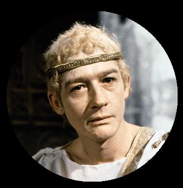 Caligula wearing headband