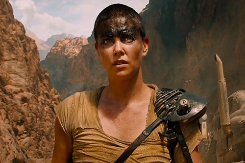 Charlize Theron from 'Mad Max: Fury Road'