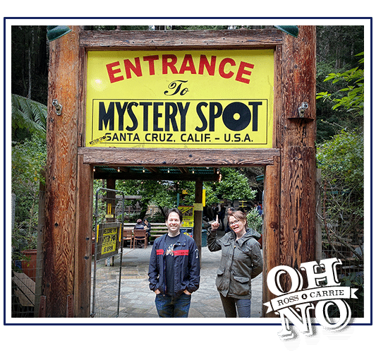 Transcript Ross And Carrie Fall Into The Mystery Spot Maximum Fun