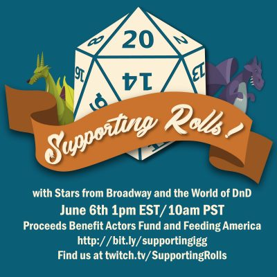 Supporting Rolls with Travis McElroy