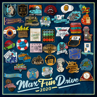 A wide selection of pins