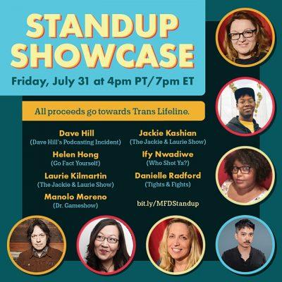 Standup Showcase flyer