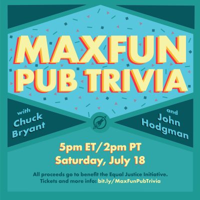 MaxFun Pub Trivia with Chuck Bryant and John Hodgman