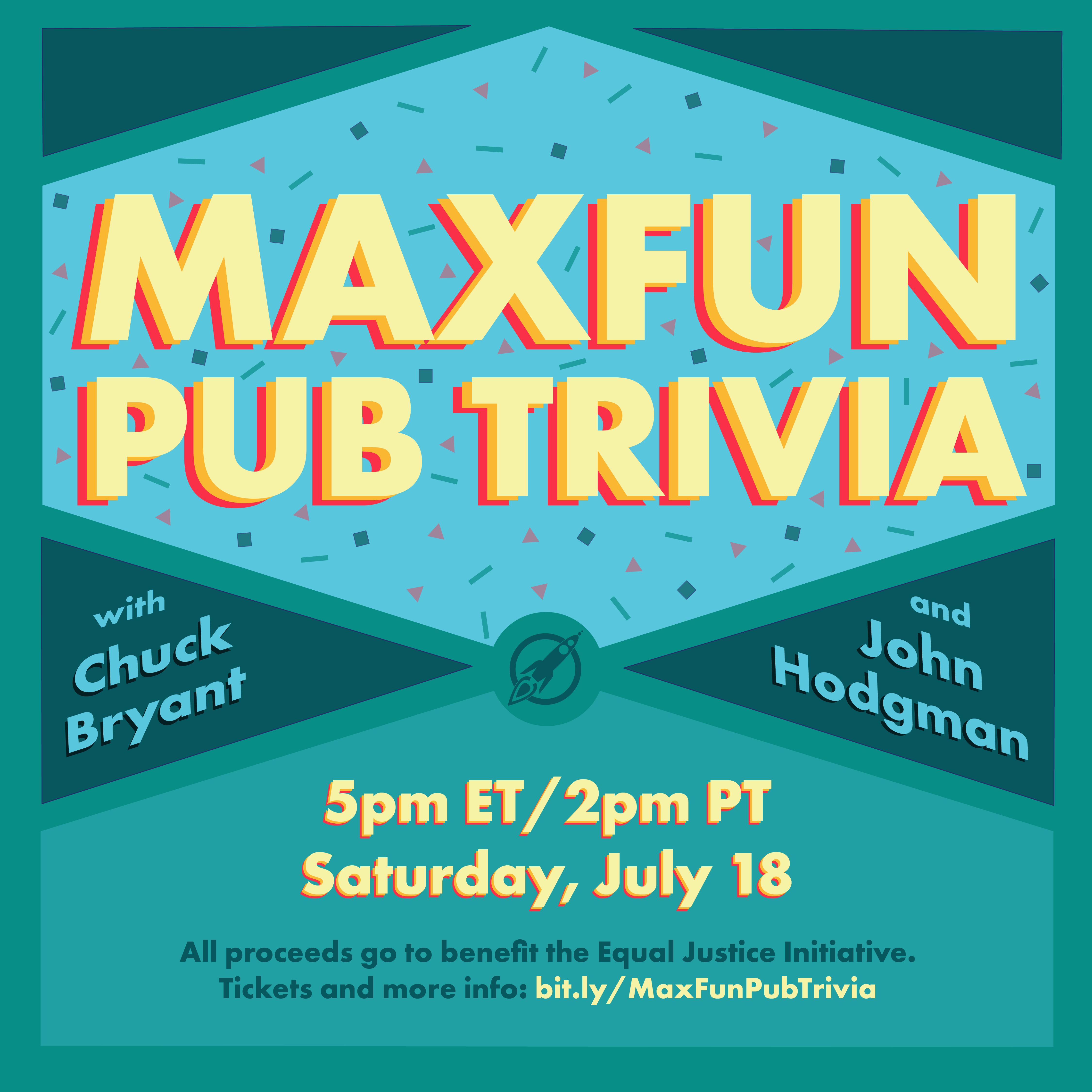 MaxFun Pub Trivia Flyer