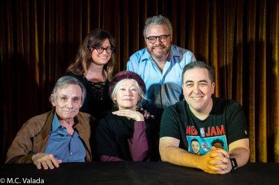 Steve Railsback, Allie Goertz, Ann Magnuson, J. Keith van Straaten, Hal Lublin