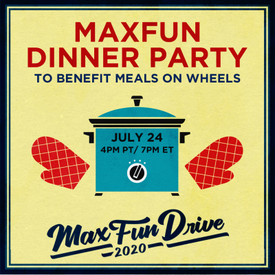 MaxFun Dinner Party Flyer