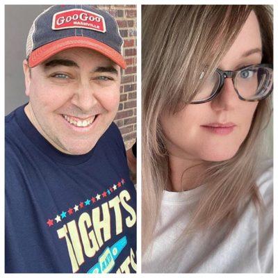 Hal Lublin and Lindsey Kelk
